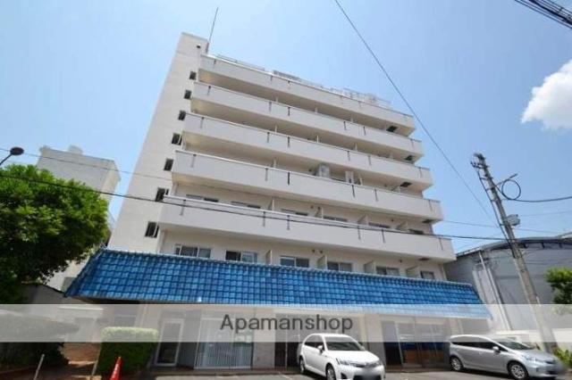 岡山県岡山市北区、岡山駅徒歩8分の築35年 9階建の賃貸マンション