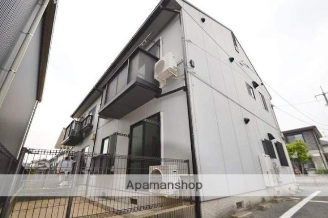 岡山県岡山市中区、西川原駅徒歩11分の築19年 2階建の賃貸アパート