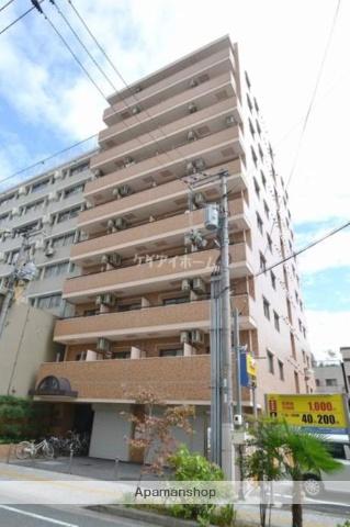 岡山県岡山市北区、県庁通り駅徒歩6分の築28年 10階建の賃貸マンション