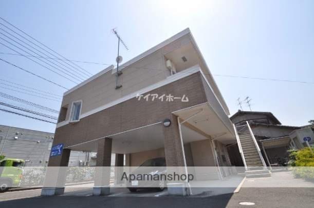岡山県岡山市東区、上道駅徒歩6分の築9年 2階建の賃貸アパート