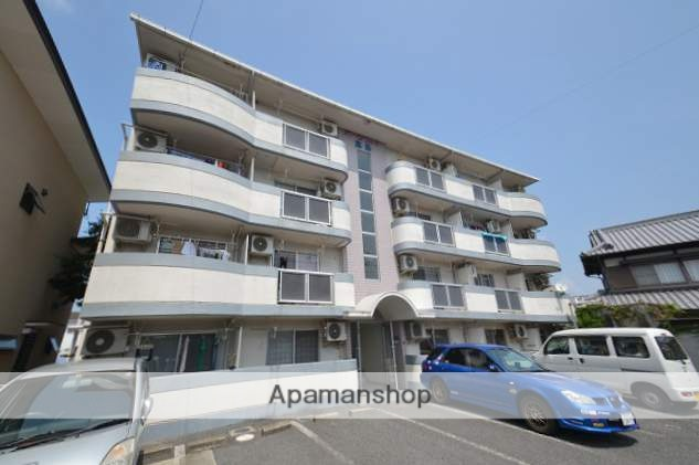 岡山県岡山市中区、高島駅徒歩4分の築26年 4階建の賃貸マンション