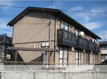 岡山県倉敷市、倉敷駅バス20分有城下車後徒歩3分の築19年 2階建の賃貸アパート