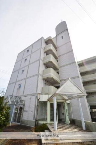岡山県岡山市北区、西川原駅徒歩25分の築27年 5階建の賃貸マンション