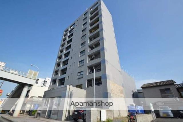 岡山県岡山市北区、岡山駅徒歩24分の築25年 11階建の賃貸マンション