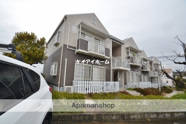 岡山県岡山市東区、大富駅徒歩27分の築26年 2階建の賃貸アパート