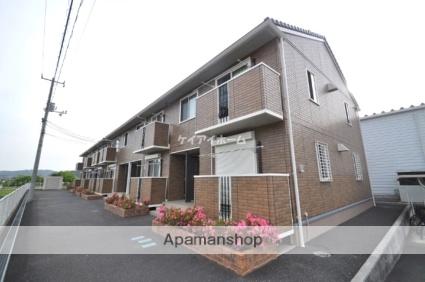 岡山県赤磐市、熊山駅徒歩22分の築10年 2階建の賃貸アパート