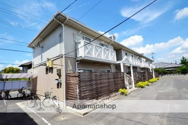 岡山県岡山市中区、高島駅徒歩23分の築30年 2階建の賃貸アパート