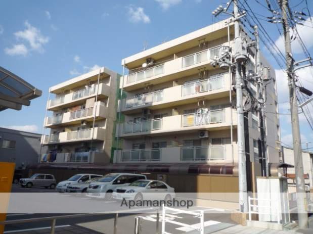 岡山県岡山市南区、岡山駅徒歩9分の築27年 5階建の賃貸マンション
