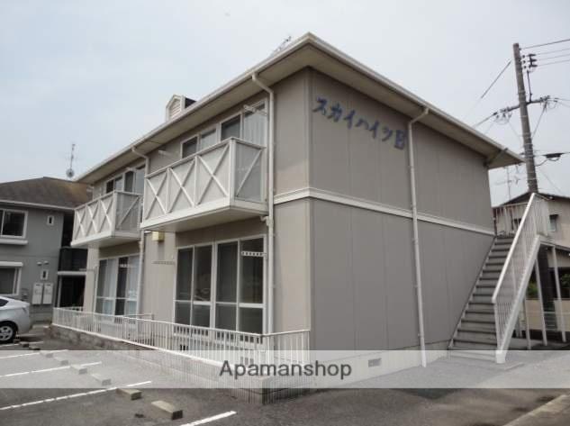 岡山県瀬戸内市、長船駅徒歩4分の築21年 2階建の賃貸アパート