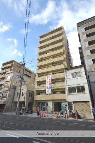 岡山県岡山市北区、岡山駅徒歩25分の築1年 10階建の賃貸マンション