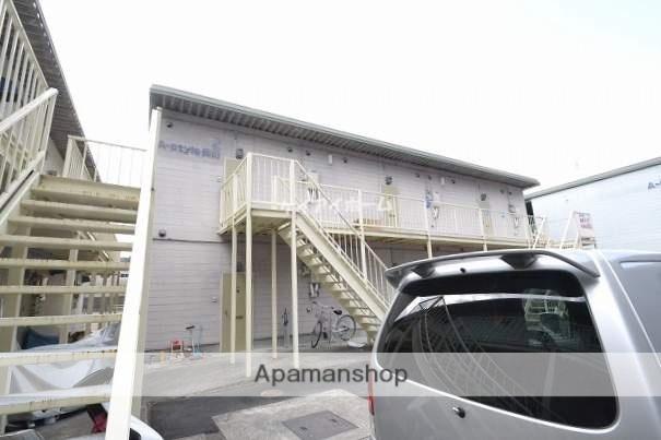 岡山県備前市、伊里駅徒歩30分の築18年 2階建の賃貸アパート