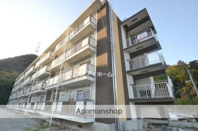 岡山県備前市、香登駅徒歩19分の築48年 4階建の賃貸マンション