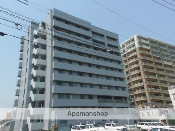 岡山県岡山市北区、西川緑道公園駅徒歩10分の築26年 10階建の賃貸マンション