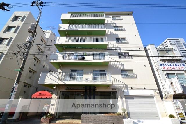 岡山県岡山市北区、岡山駅徒歩8分の築30年 7階建の賃貸マンション