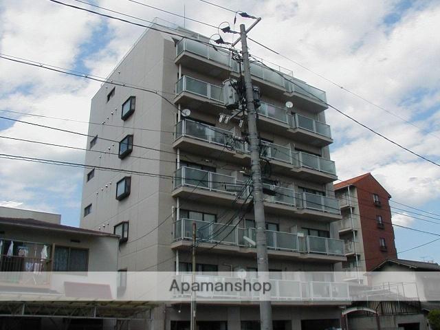 岡山県岡山市北区、大雲寺前駅徒歩10分の築28年 7階建の賃貸マンション