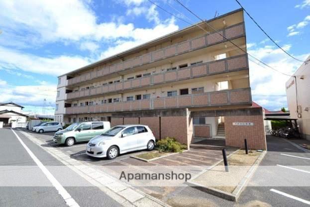 岡山県岡山市北区、岡山駅徒歩57分の築20年 4階建の賃貸マンション