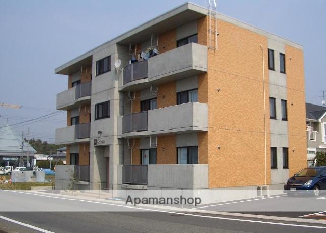 岡山県津山市、高野駅徒歩24分の築11年 3階建の賃貸マンション