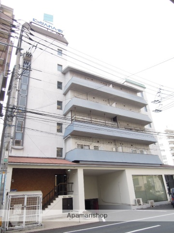 岡山県岡山市北区、岡山駅徒歩12分の築36年 6階建の賃貸マンション