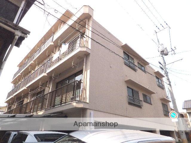 岡山県岡山市北区、岡山駅徒歩17分の築40年 4階建の賃貸マンション
