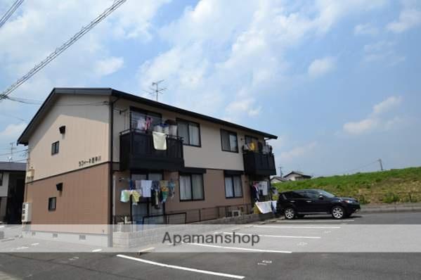 岡山県岡山市北区、備前一宮駅徒歩7分の築18年 2階建の賃貸アパート