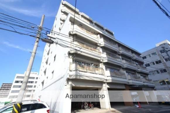 岡山県岡山市北区、岡山駅徒歩26分の築43年 8階建の賃貸マンション