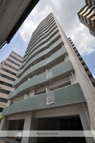 岡山県岡山市北区、県庁通り駅徒歩6分の築10年 15階建の賃貸マンション