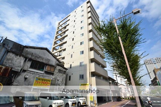 岡山県岡山市北区、岡山駅徒歩16分の築10年 11階建の賃貸マンション