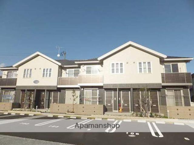 岡山県都窪郡早島町、早島駅徒歩18分の築4年 2階建の賃貸アパート