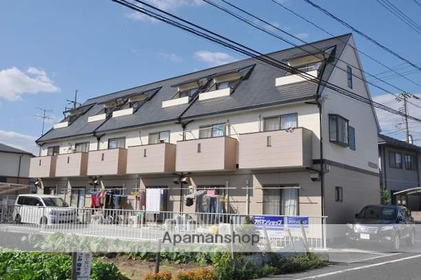 岡山県岡山市中区、大元駅徒歩61分の築21年 3階建の賃貸タウンハウス