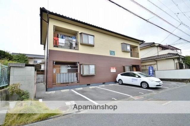 岡山県倉敷市、倉敷駅徒歩15分の築28年 2階建の賃貸アパート