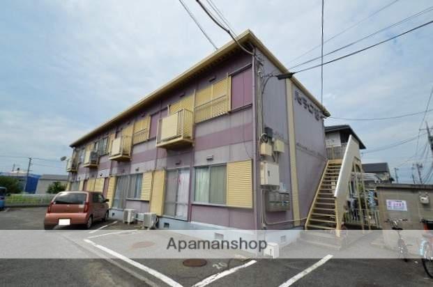 岡山県倉敷市、倉敷市駅徒歩30分の築24年 2階建の賃貸アパート