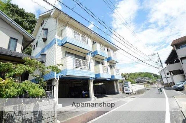岡山県倉敷市、西富井駅徒歩29分の築27年 3階建の賃貸マンション
