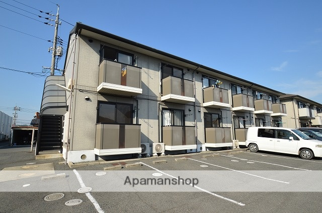 岡山県倉敷市、西阿知駅徒歩24分の築17年 2階建の賃貸アパート