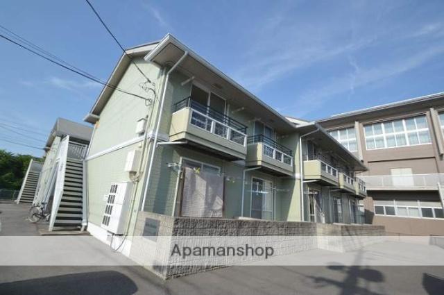 岡山県岡山市中区、岡山駅徒歩34分の築20年 2階建の賃貸アパート
