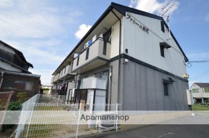 岡山県倉敷市、西阿知駅徒歩16分の築19年 2階建の賃貸アパート