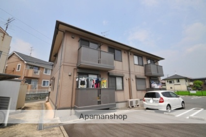 岡山県都窪郡早島町、早島駅徒歩18分の築12年 2階建の賃貸アパート