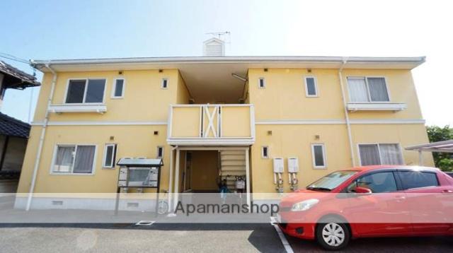 岡山県倉敷市、中庄駅徒歩60分の築25年 2階建の賃貸アパート