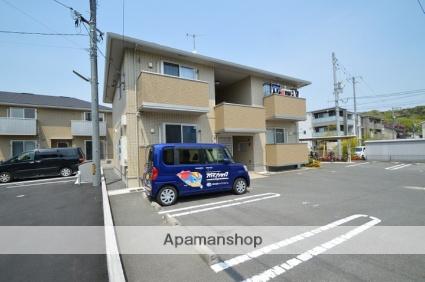 岡山県倉敷市、倉敷駅徒歩34分の築4年 2階建の賃貸アパート