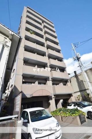 岡山県岡山市北区、岡山駅徒歩24分の築26年 10階建の賃貸マンション