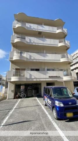 岡山県岡山市北区、岡山駅徒歩14分の築30年 5階建の賃貸マンション