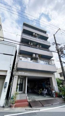 岡山県岡山市北区、岡山駅徒歩20分の築26年 5階建の賃貸マンション