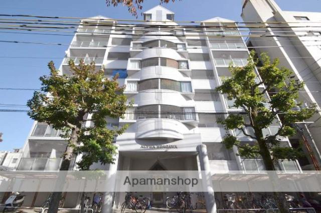 岡山県岡山市北区、大雲寺前駅徒歩6分の築28年 7階建の賃貸マンション