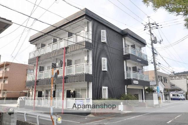 岡山県岡山市北区、岡山駅徒歩30分の築24年 3階建の賃貸マンション