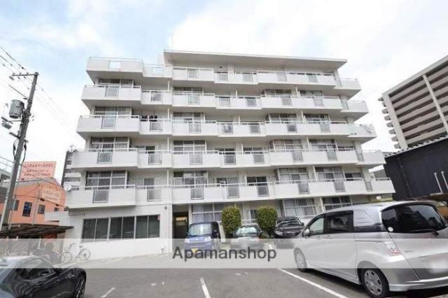 岡山県岡山市北区、岡山駅徒歩20分の築31年 5階建の賃貸マンション