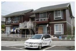 岡山県倉敷市、常盤駅徒歩6分の築23年 2階建の賃貸アパート