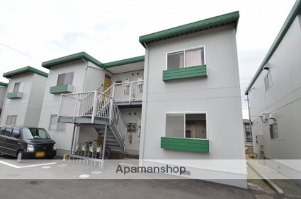 岡山県倉敷市、西阿知駅徒歩19分の築31年 2階建の賃貸アパート