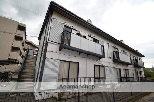 岡山県岡山市中区、高島駅徒歩9分の築22年 2階建の賃貸アパート