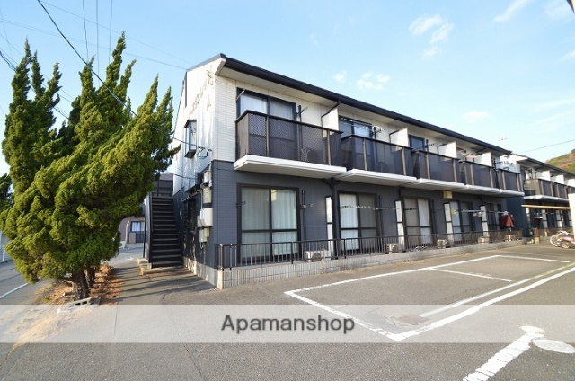 岡山県倉敷市、西富井駅徒歩20分の築20年 2階建の賃貸アパート