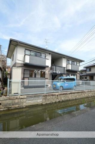 岡山県倉敷市、久々原駅徒歩22分の築19年 2階建の賃貸アパート