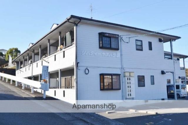 岡山県都窪郡早島町、早島駅徒歩15分の築21年 2階建の賃貸アパート